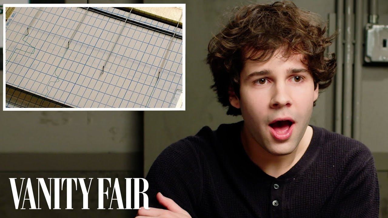 David Dobrik Takes a Lie Detector Test | Vanity Fair image