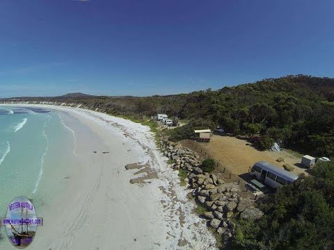 Campsites at Two Peoples Bay - Albany - Western Australia
