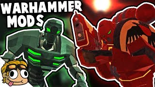 WARHAMMER 40k MODS INVADE RAVENFIELD! | Ravenfield Mod Gameplay