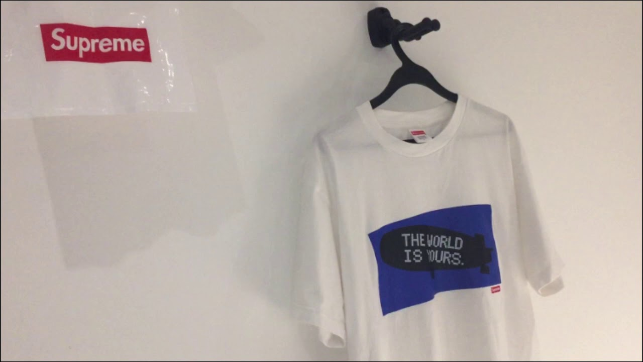 87fab7d85 Supreme Scarface T-shirt Review by BLVCKS - YouTube