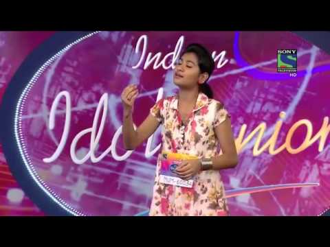 NityaShree indian idol zara zara Tamil. 2015