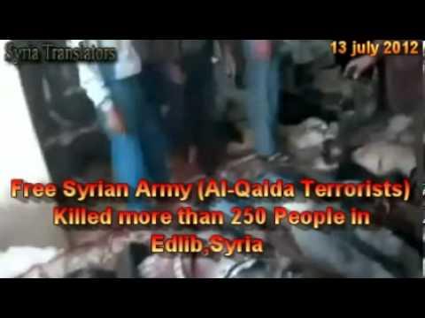 FREE SYRIAN ARMY Edlib Attack 13-7-2012