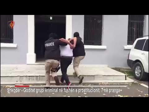 """""""Balerina"""", 7 të arrestuar për prostitucion në Shkodër"""