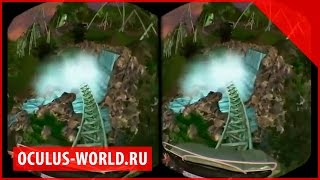 Американские горки Oculus Rift | Helix Rift Coaster Окулус Рифт скорость тележка обзор тест шлем(, 2014-09-02T09:26:43.000Z)