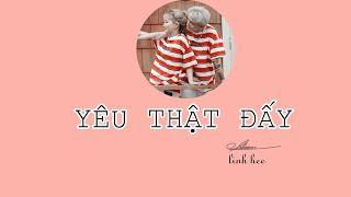 Yêu Thật Đấy - Linh Hee | Official Lyrics Video
