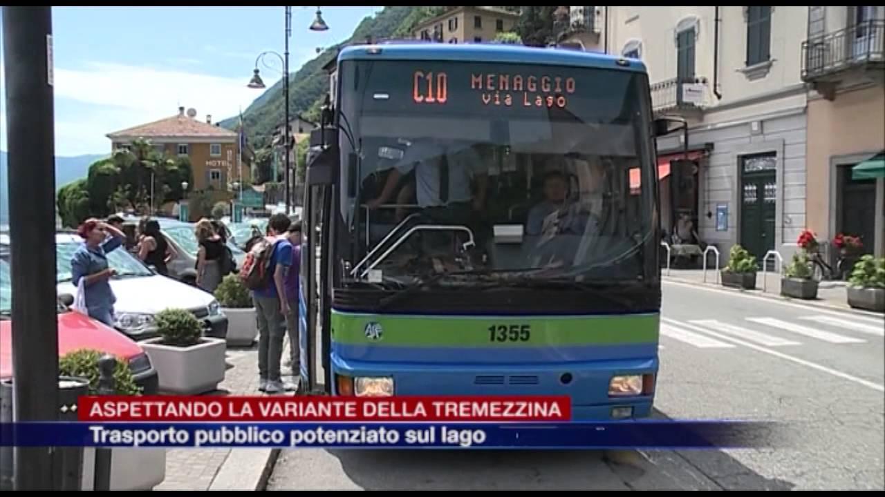 Bus Potenziati Sul Lago Nel Periodo Estivo Aspettando La