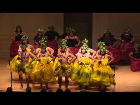 Hawaii CC halau performs at Library of Congress