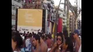 Praia do Forte Cabo Frio. Pré do Pré Carnaval com Trio Elétrico Pepinho antes da queima fogos!