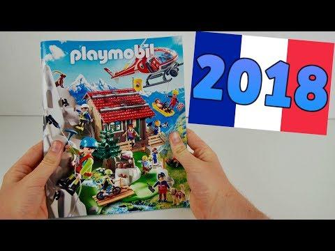 CATALOGUE PLAYMOBIL 2018 FRANCE - nouveautés (maison moderne,country,family fun,action)