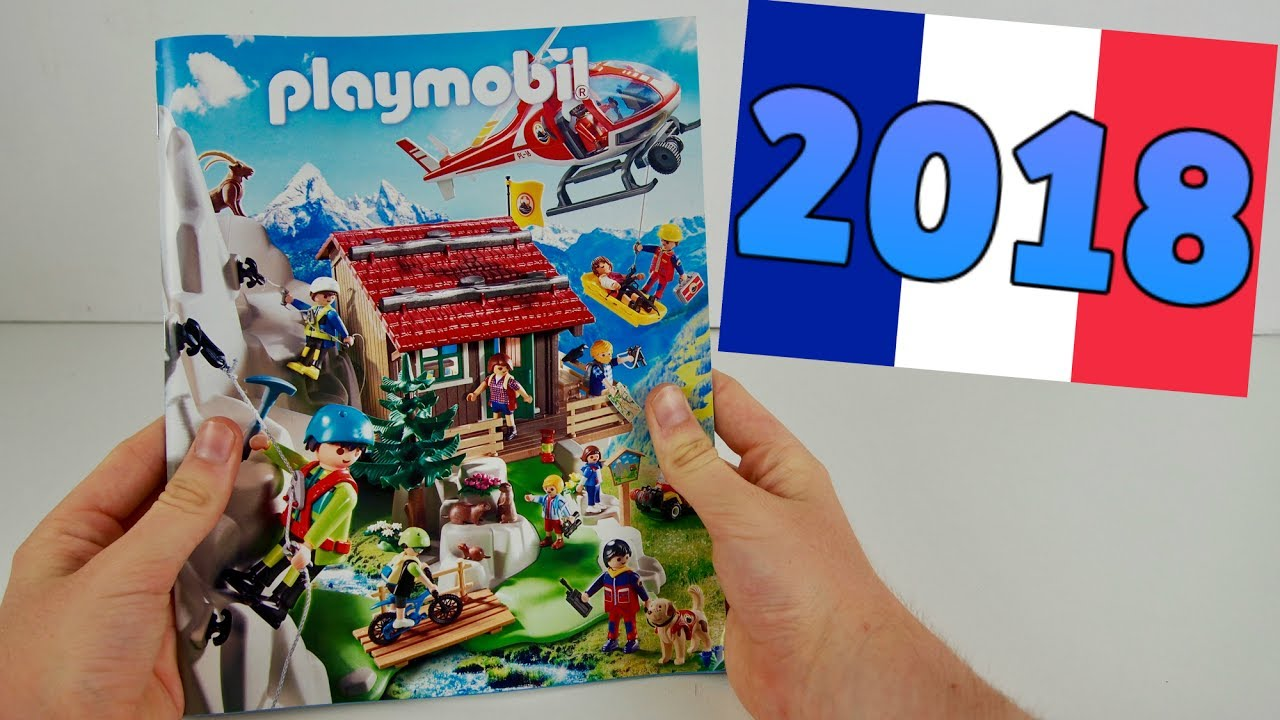 Catalogue playmobil 2018 france nouveaut s maison moderne voiture family fun pompier youtube - Toute les maison playmobil ...