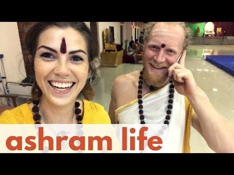 Daily Life at Nithyananda Ashram || Meet the Faces of Adi Kailash (My Life in India Vlog 2)