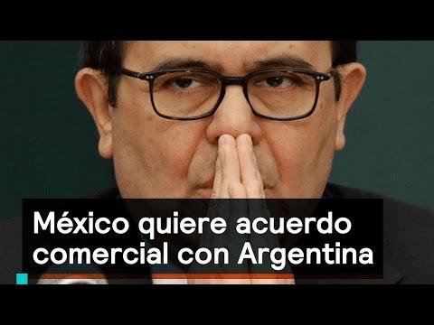 México quiere acuerdo comercial con Argentina - Foro Global