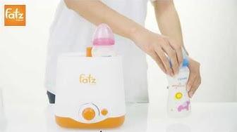 Hướng dẫn sử dụng máy hâm sữa 2 bình cổ rộng FB3012SL- thế hệ mới | FATZBABY