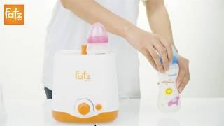 Hướng dẫn sử dụng máy hâm sữa 2 bình cổ rộng FB3012SL- thế hệ mới