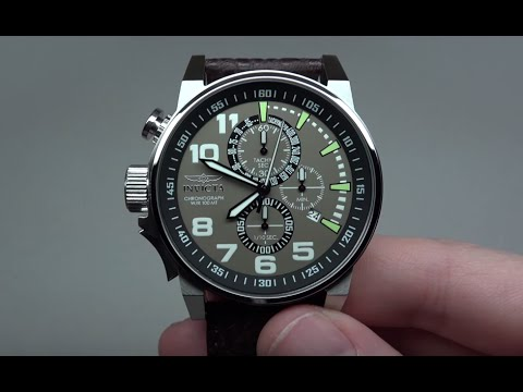 INVICTA FORCE CHRONOGRAPH MEN'S WATCH REVIEW MODEL: 13054