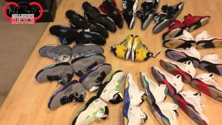 Entire Air Jordan 5 (V) Collection Video 2013 By DJ Hes (19 Pairs)