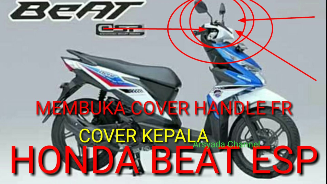 Spion Kiri Beat Fi Sporty Esp Pop Vario 110 Collar Spg 23238k16a41 Bongkar Pasang Cover Fr Kepala Honda 2017