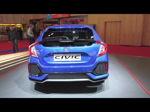 2017 Honda Civic Hatchback - 2016 Paris Motor Show