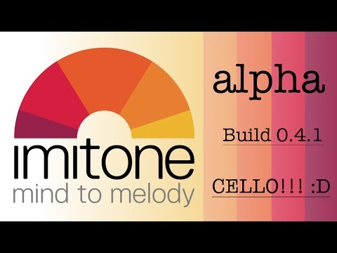 Imitone - Alpha build 0.4.1 - Epic cello!