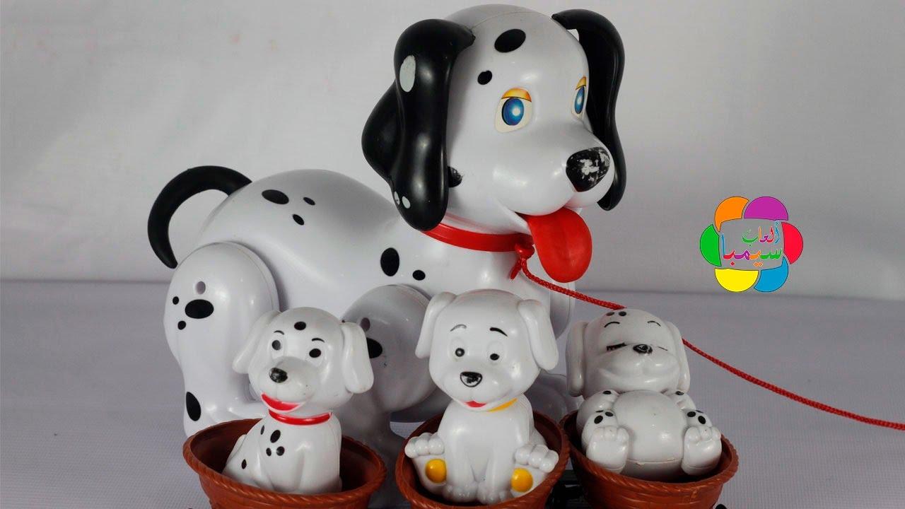 ecd642bc02768 لعبة الكلاب المنقطة والعاب الاطفال للبنات والاولاد dalmatians 101 dog and  puppies game toys