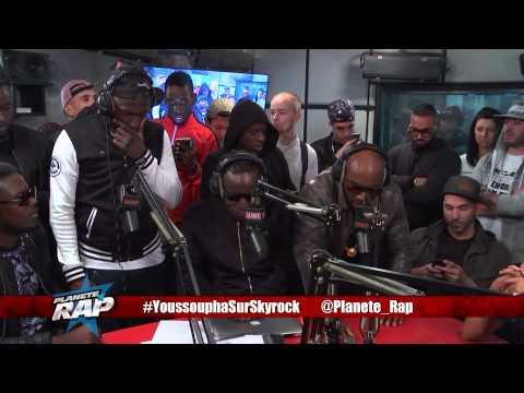 Youssoupha, Taipan, Ice Criminel, Sam's & Naza en freestyle #PlanèteRap