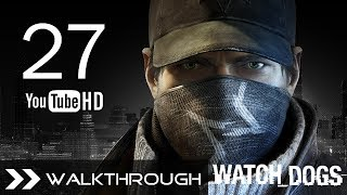 Watch Dogs Walkthrough Gameplay Mission - Part 27 (Act 3 - For The Portfolio) HD 1080p No Commentary