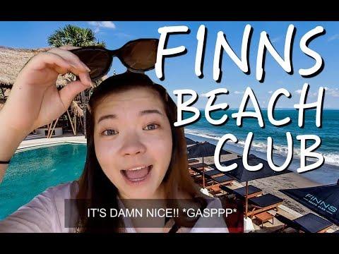 Finns Beach Club Bali- Canggu (VLOG)