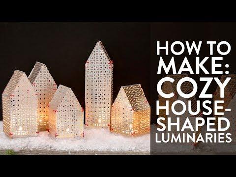 Make These: Cozy Holiday Luminaries