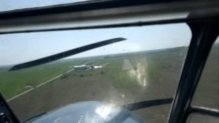 Як-18Т - полёт и посадка