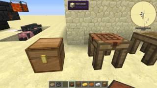 Различные верстаки в Tinkers Construct