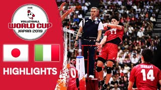 JAPAN VS ITALY - HIGHLIGHTS | VOLLEYBALL WORLD CUP JAPAN 2019