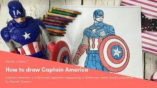 Tô Màu Đội trưởng Mỹ