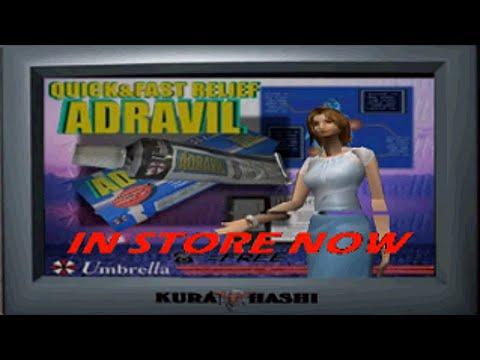 Resident Evil 3 - Adravil Model Add / Hardcore + Randomizer [ PS1 MOD ]