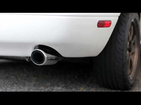 1.8L Mazda Miata Racing Beat power pulse cat back sound clip