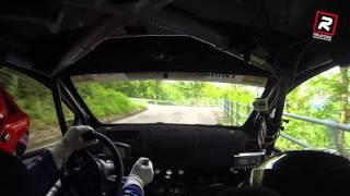 30° Rally Bellunese 2015 - Paris - Benellini Onboard [HD](30° Rally Bellunese 2015 Equipaggio: Alberto Paris - Sonia Benellini Vettura: Renault Twingo R2B (Munaretto) Ps 6