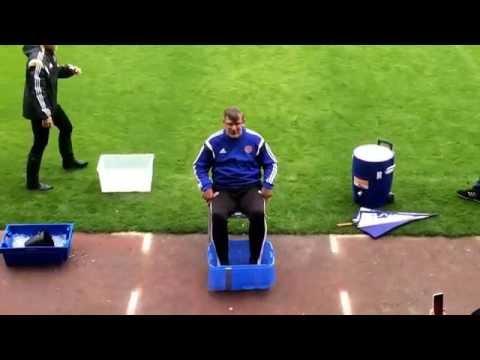 Ice bucket challenge: Craig Levein