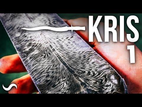 KRIS BLADE DAMASCUS DAGGER!!! Part 1