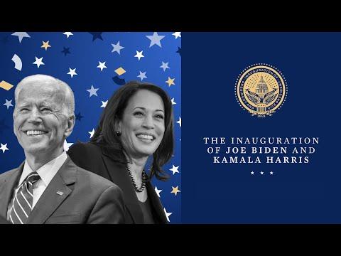 The Inauguration of Joe Biden and Kamala Harris   Jan. 20th, 2021