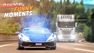 EP.#2 - Funny & Random Moments - Euro Truck Simulator 2
