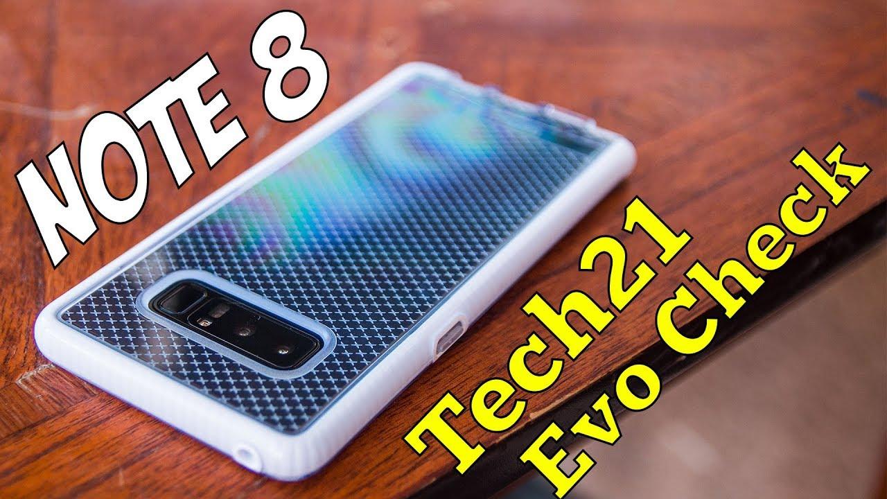 super popular ad4ae 13757 BEST NOTE 8 CASE?!? - Tech21 Evo Check Case Review