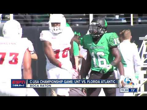 Florida Atlantic wins C-USA Championship with convincing win over North Texas