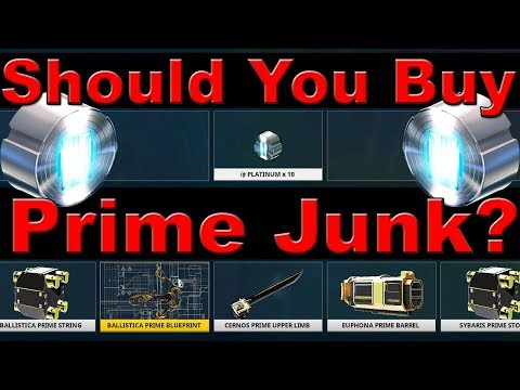 Warframe | What to Know About Buying Prime Junk
