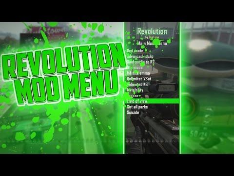 PS3/XBOX 360) Revolution Mod Menu [CEX/DEX] | Best Black Ops 2 Mod
