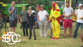 England Hosts World Egg Throwing Championships | SportsCenter | ESPN