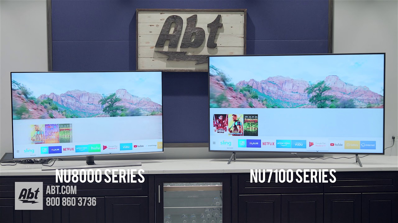 01038ae7b56c Samsung TV Comparison  NU8000 Series vs NU7100 Series - YouTube