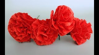 ABC TV | How To Make Paper Flower From Crepe Paper #3 - Easy Craft Tutorial