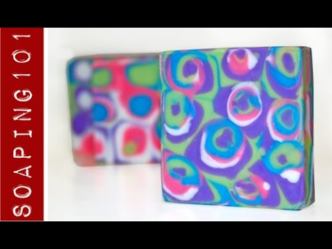Supercalifragilisticexpialidocious Soap {one technique, two designs} S3W8