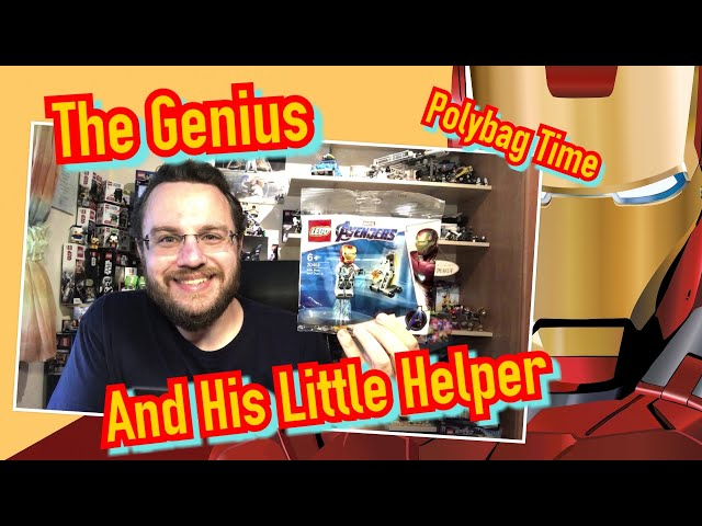 The Genius And His Little Helper – Iron Man and Dum-E (Lego Polybag 30452)