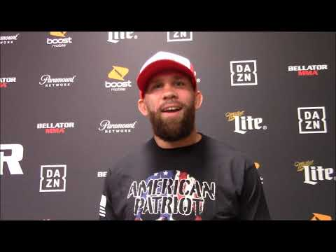 David Rickels: This is My Showcase Fight at Bellator 225, Not Yaroslav Amosov's
