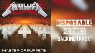 Metallica - Backing Track - Disposable Heroes Drums and bass instrumental